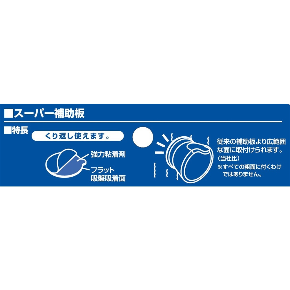 SANEI スーパー補助板75mmPP780-75