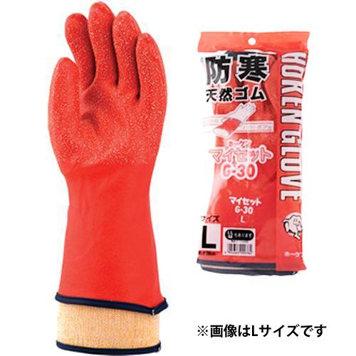 ホーケングローブ 防寒手袋 マイセット G-30 M レッド