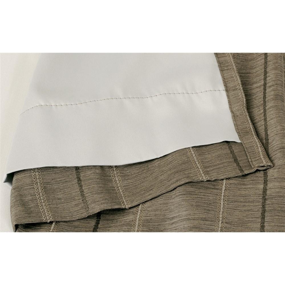 カーテン マター 2枚組 幅100×高さ178cm 2枚組  ブラウン