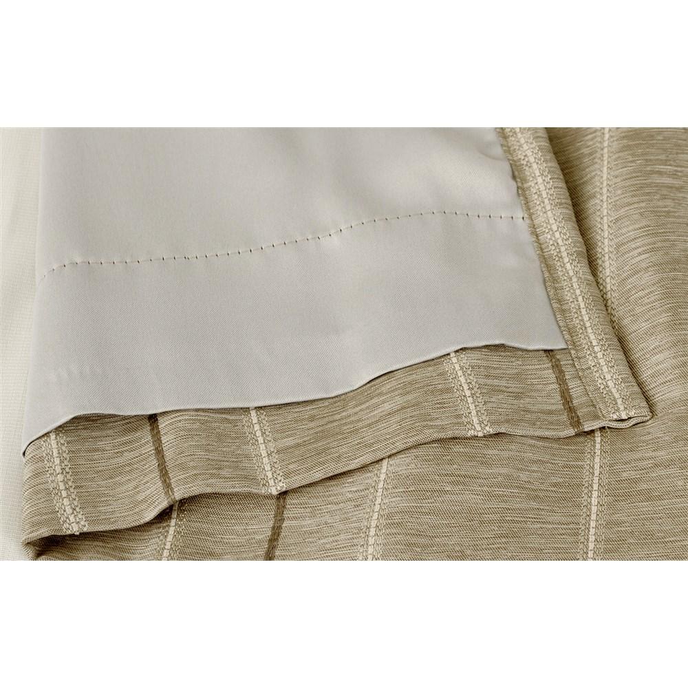 カーテン マター 2枚組 幅100×高さ135cm 2枚組  ベージュ