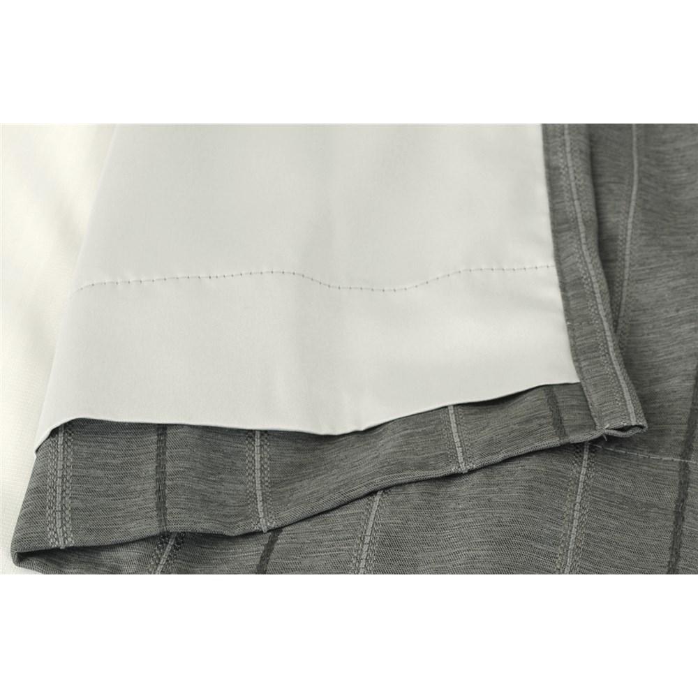 カーテン マター 2枚組 幅100×高さ178cm 2枚組  ブラック