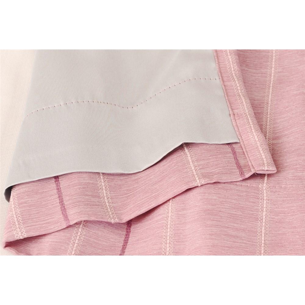 カーテン マター 2枚組 幅100×高さ135cm 2枚組  ピンク