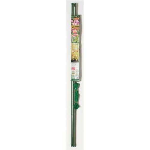 ネット付サポート支柱 太さ11mm 高さ1200mm
