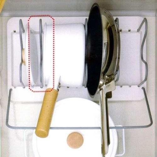 引出し用鍋フライパンスタンド