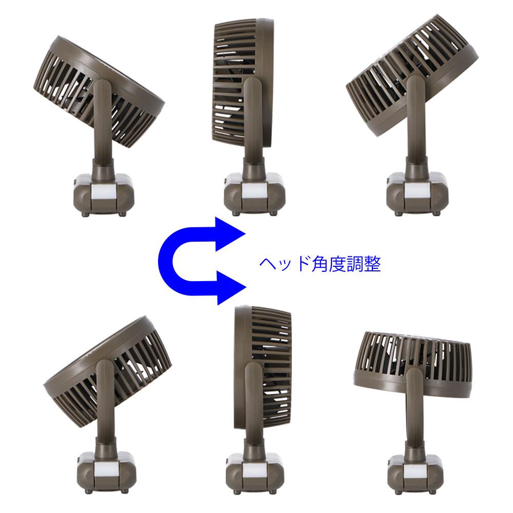 コーナン オリジナル PortTech 充電式ライトファン PTY−RH94C(KH)