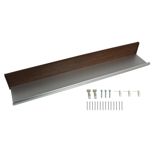 MR−427 ラインシェルフ セピア 400mm