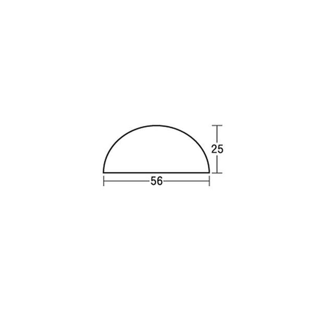 光(Hikari) KTD56−2 戸当りドーム ブラック