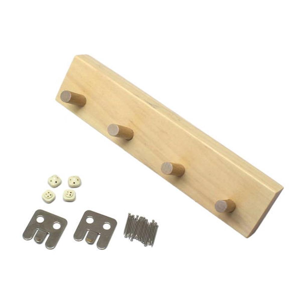 光(Hikari) KSKW−40 石膏ボード用小型4連フックナチュラル