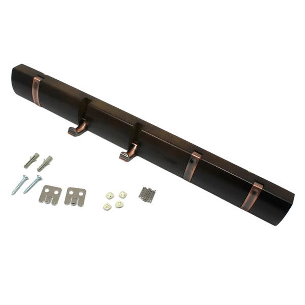 光(Hikari) KSFC−51 石膏ボード用収納フック5連ブラウン