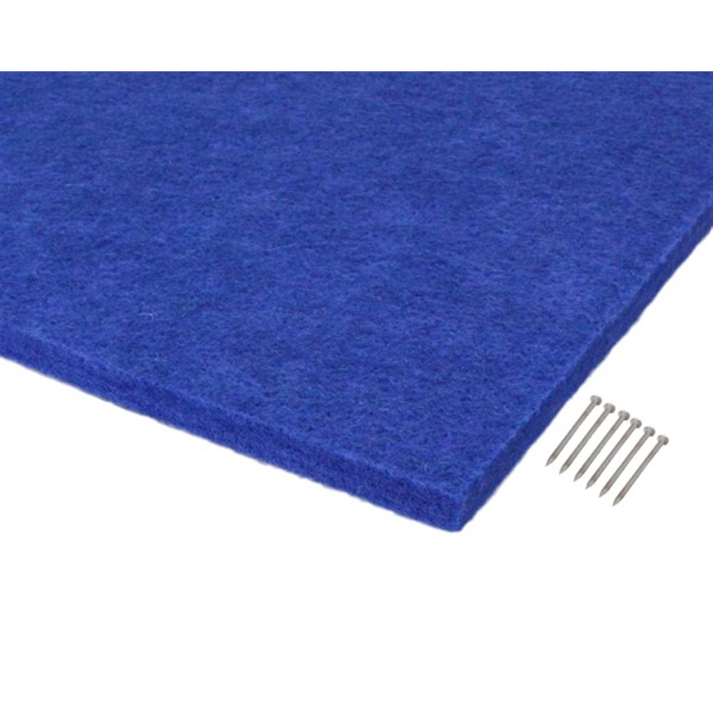 光(Hikari) KQFT309−4 吸音カラー硬質フェルトボード300角 ブルー