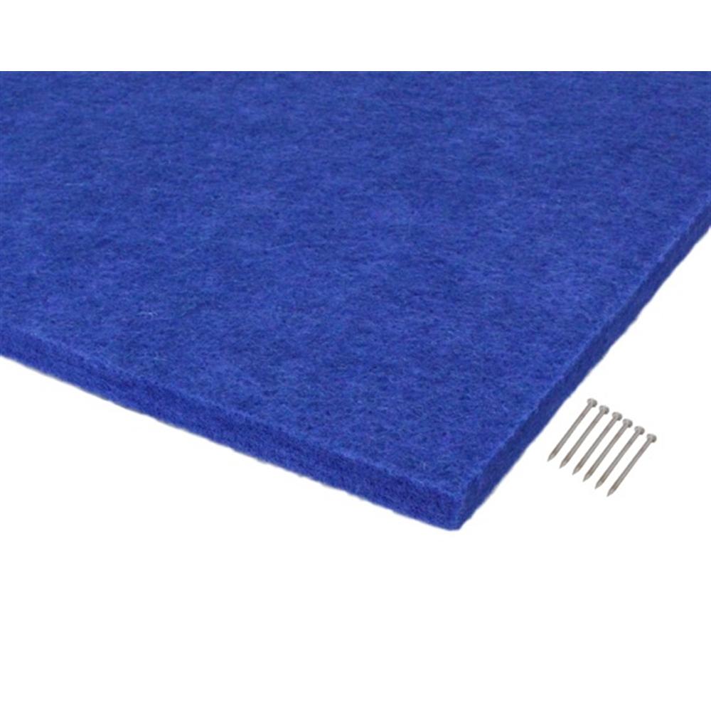 光(Hikari) KQFT409−4 吸音カラー硬質フェルトボード400角 ブルー