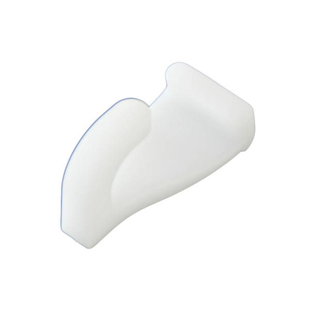 フックレール用樹脂フック ホワイト
