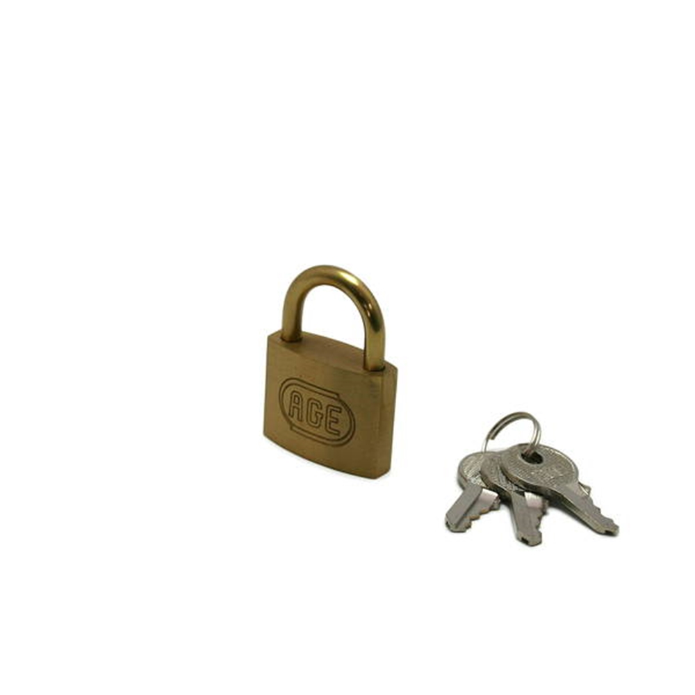 GY009 南京錠35mm 鍵番指定 3本キー