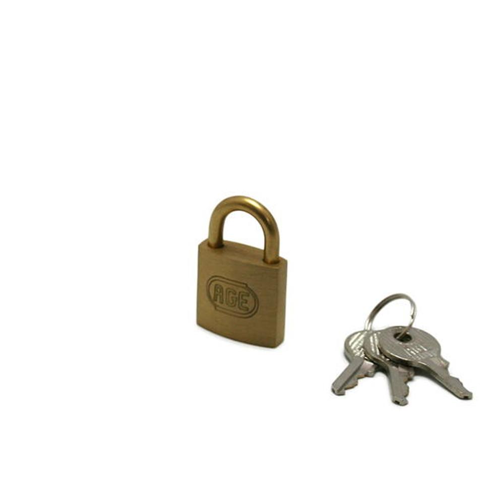 GY037 南京錠25mm 鍵番指定 3本キー