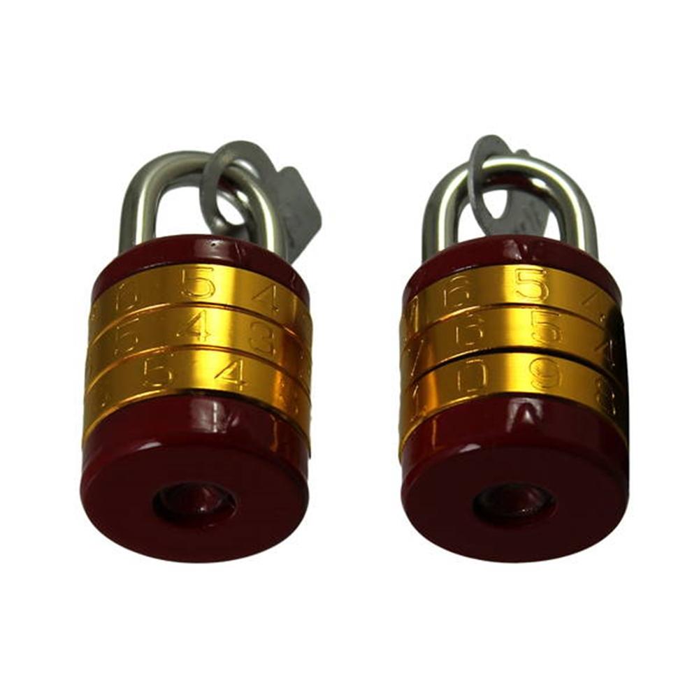 G-066 丸形符号錠24mm2個同一キー