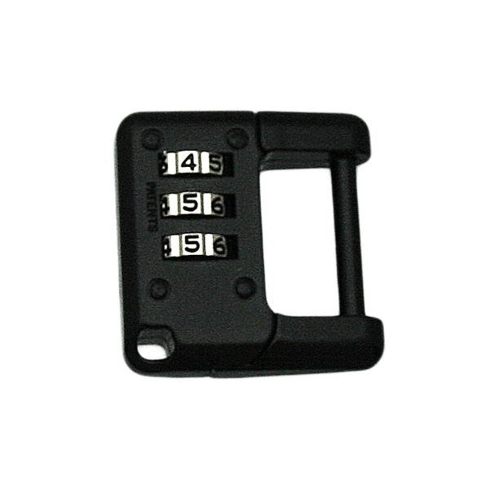 G-077 3ケタ文字合せ錠(ブラック)
