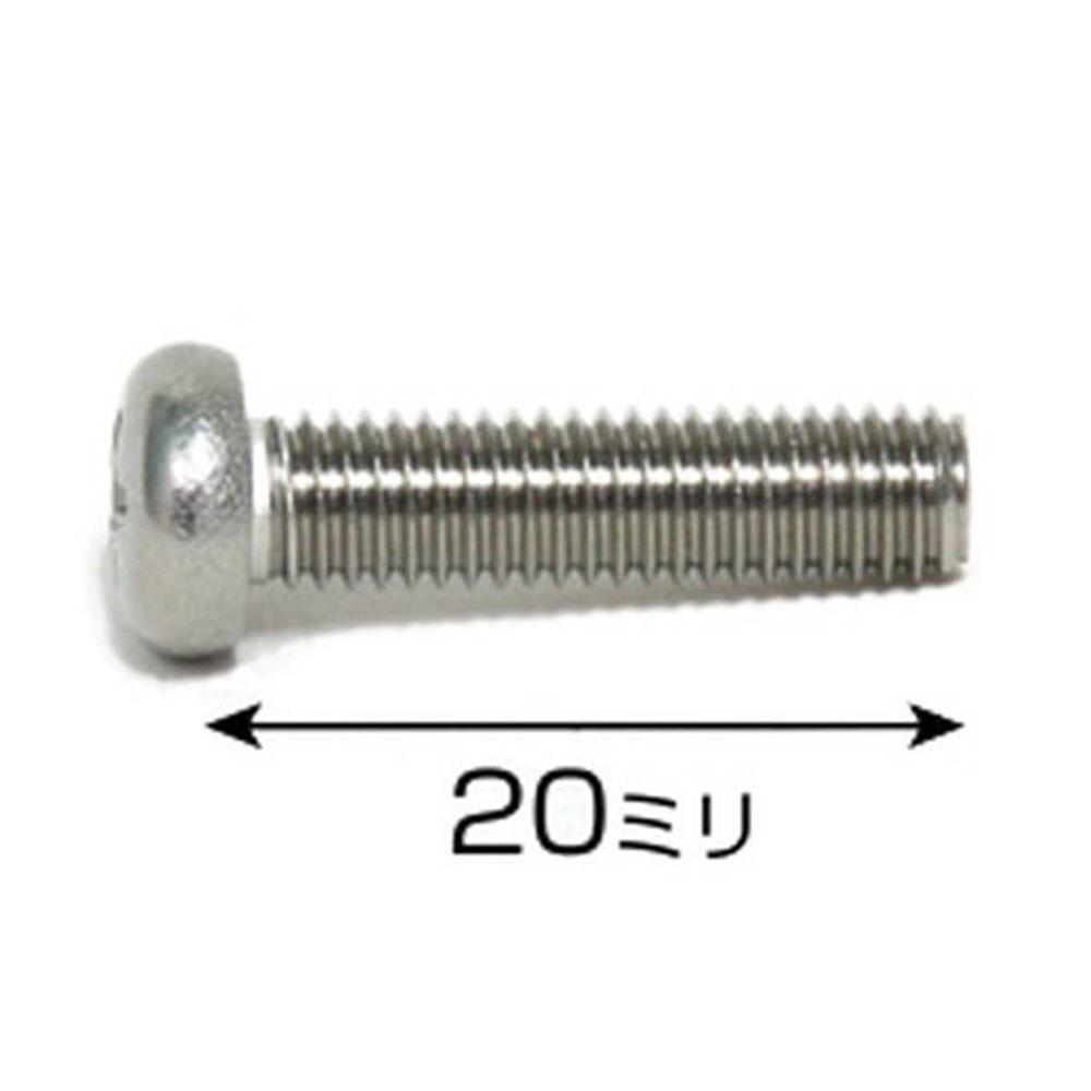 75550ステン鍋小ネジISO 5x20 約38本入り
