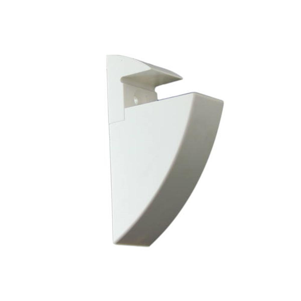 クリップシェルフ 15mm ホワイト