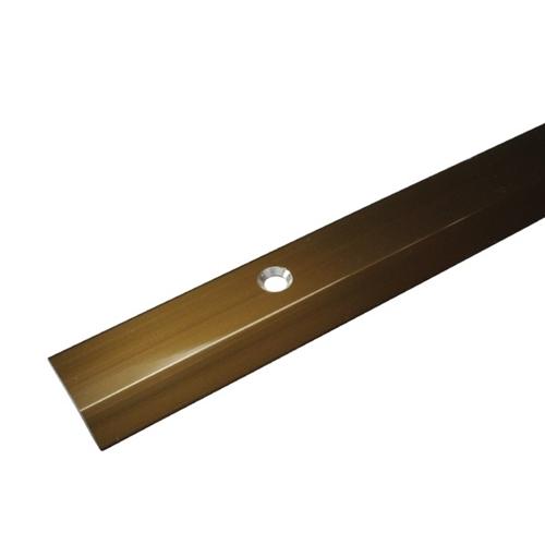 D324−2H じゅうたん押え への字アルミ UM 2000 3104359