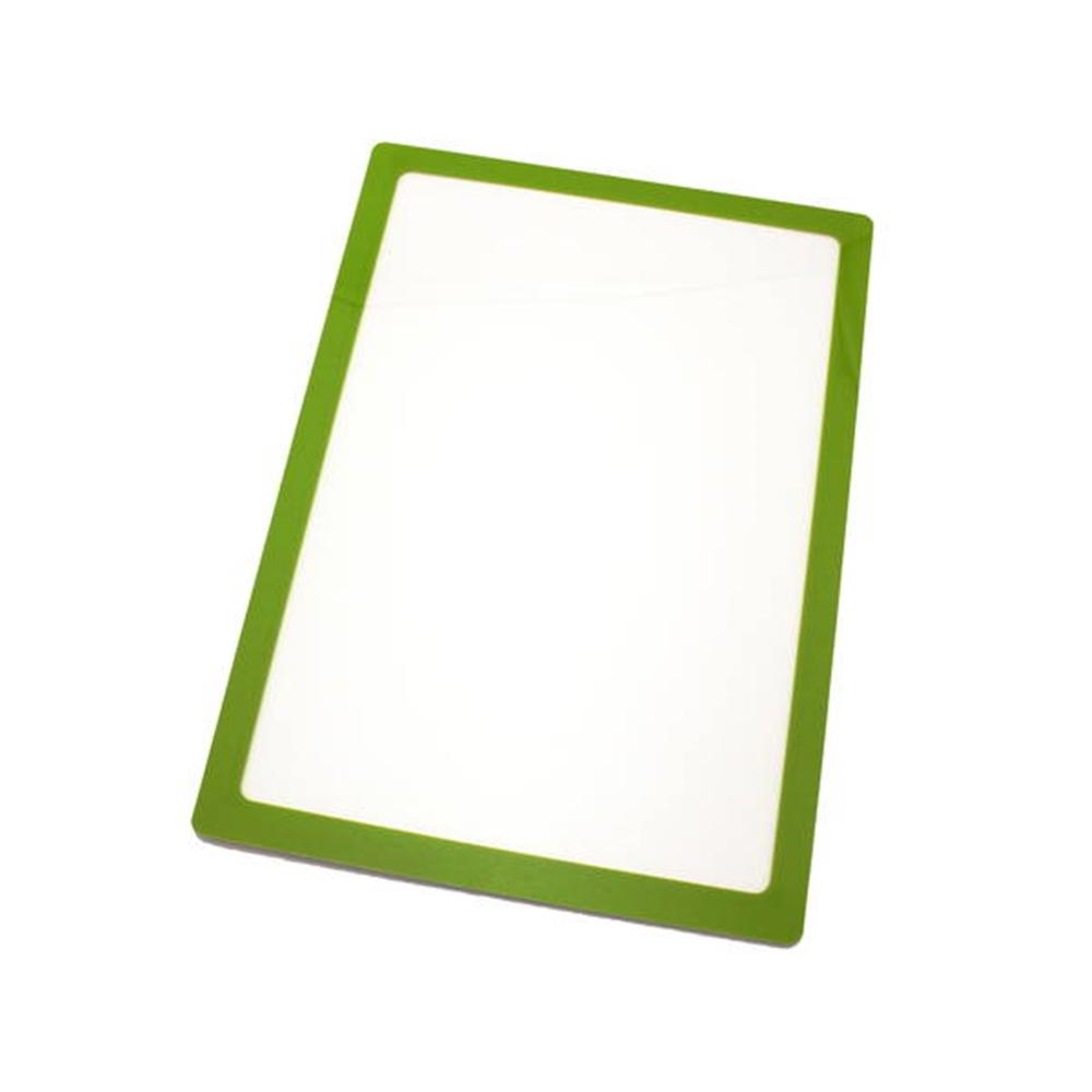 光(Hikari) PDA4−4 ポケットパッドA4 黄緑