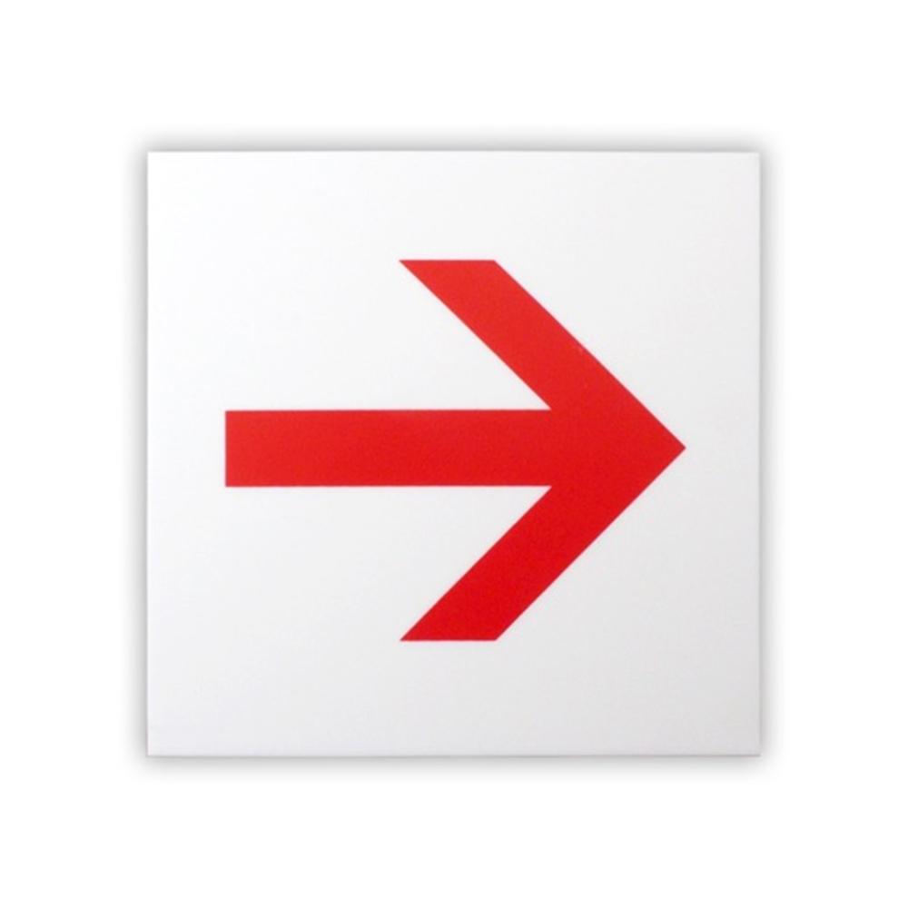 光(Hikari) KMP1051−4 片面マット白 赤矢印