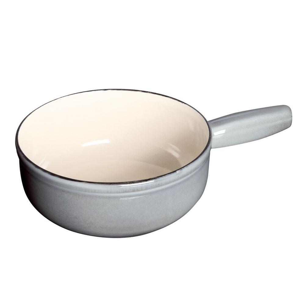 ストウブ チーズフォンデュポット 23cm 40509−600 グレー