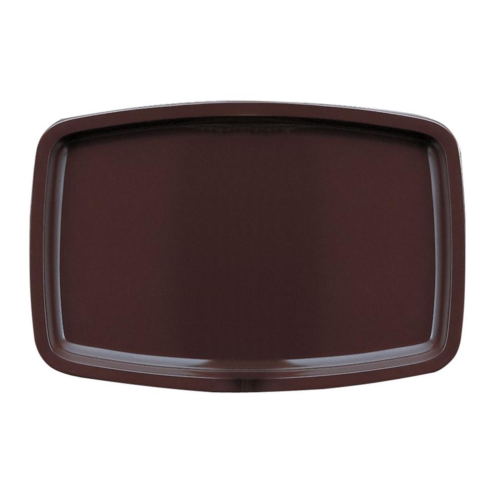 メラミン スナックトレーM−160 ブラウン