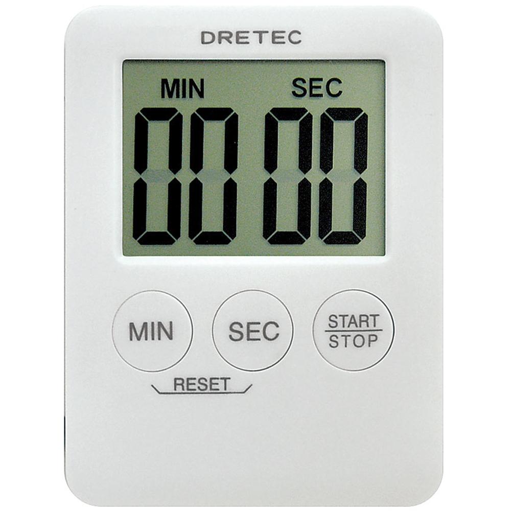 デジタルタイマー ポケッティー T−307WT(ホワイト)