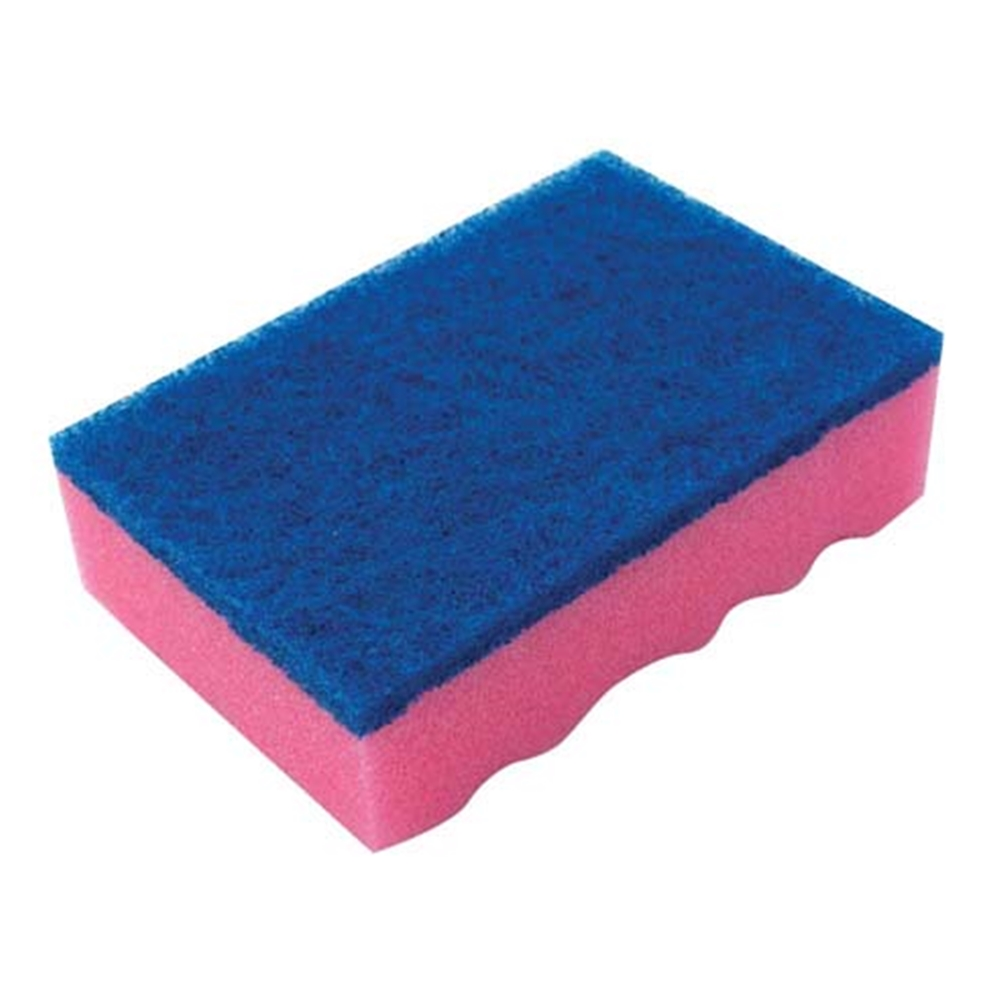 キクロンPRO スポンジたわしハード (10個入)ピンク A−630