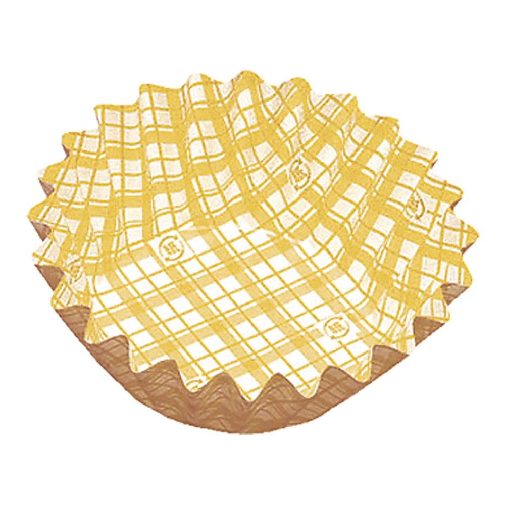 紙カップ ココケース 丸型(500枚入) 8号深 黄