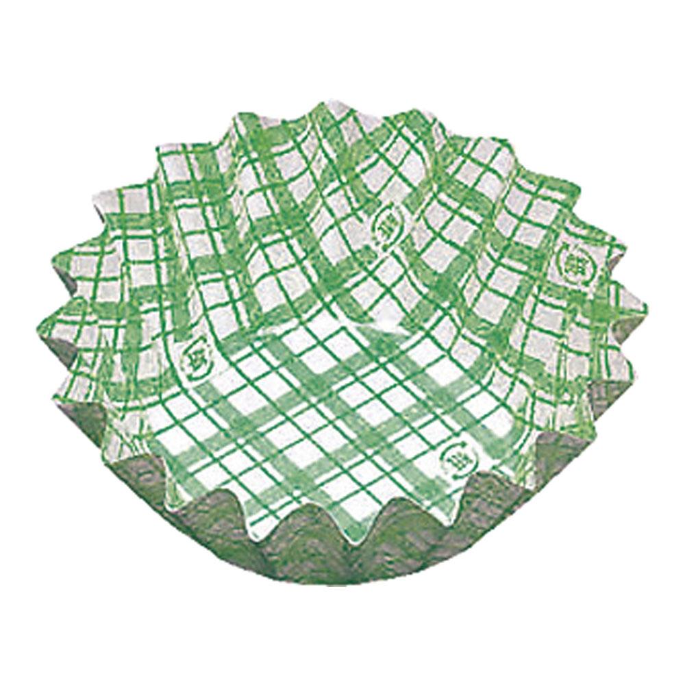 紙カップ ココケース 丸型(500枚入) 10号深 緑