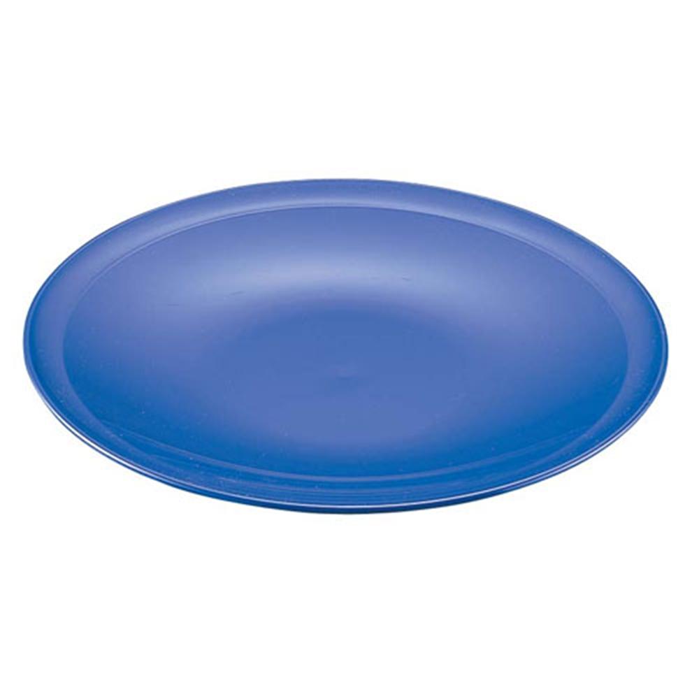 プラ容器 高台皿 紺 1尺(5枚入)
