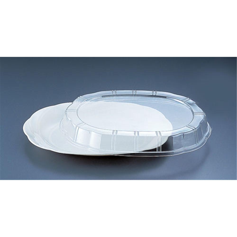 プラ容器 シルキー用蓋 透明 中用(10枚入)