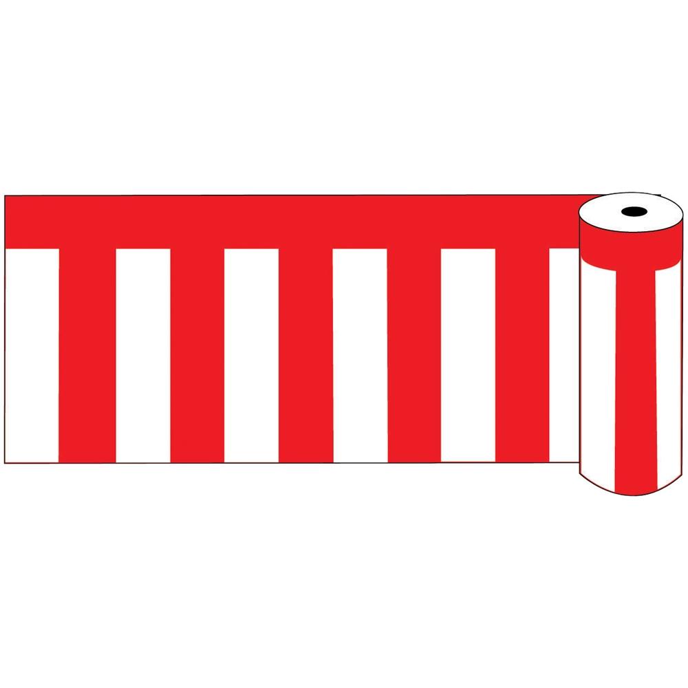 ビニール紅白幕 ロール75