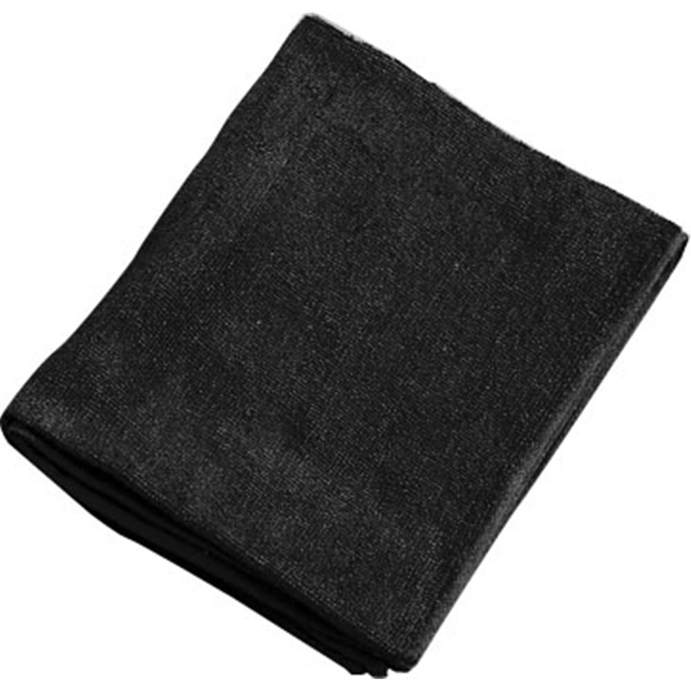 ミューファン 抗菌フェイスタオル (12枚入) 黒