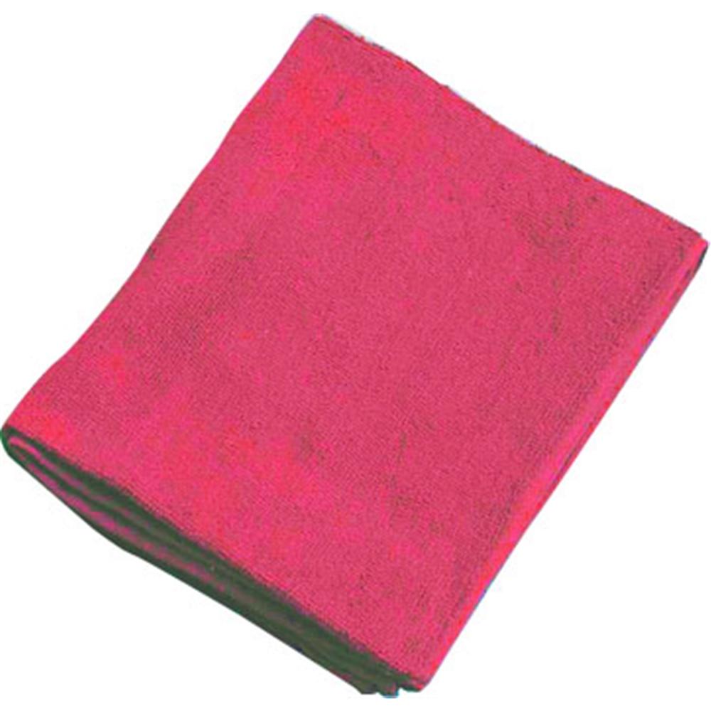 ミューファン 抗菌フェイスタオル (12枚入) 赤