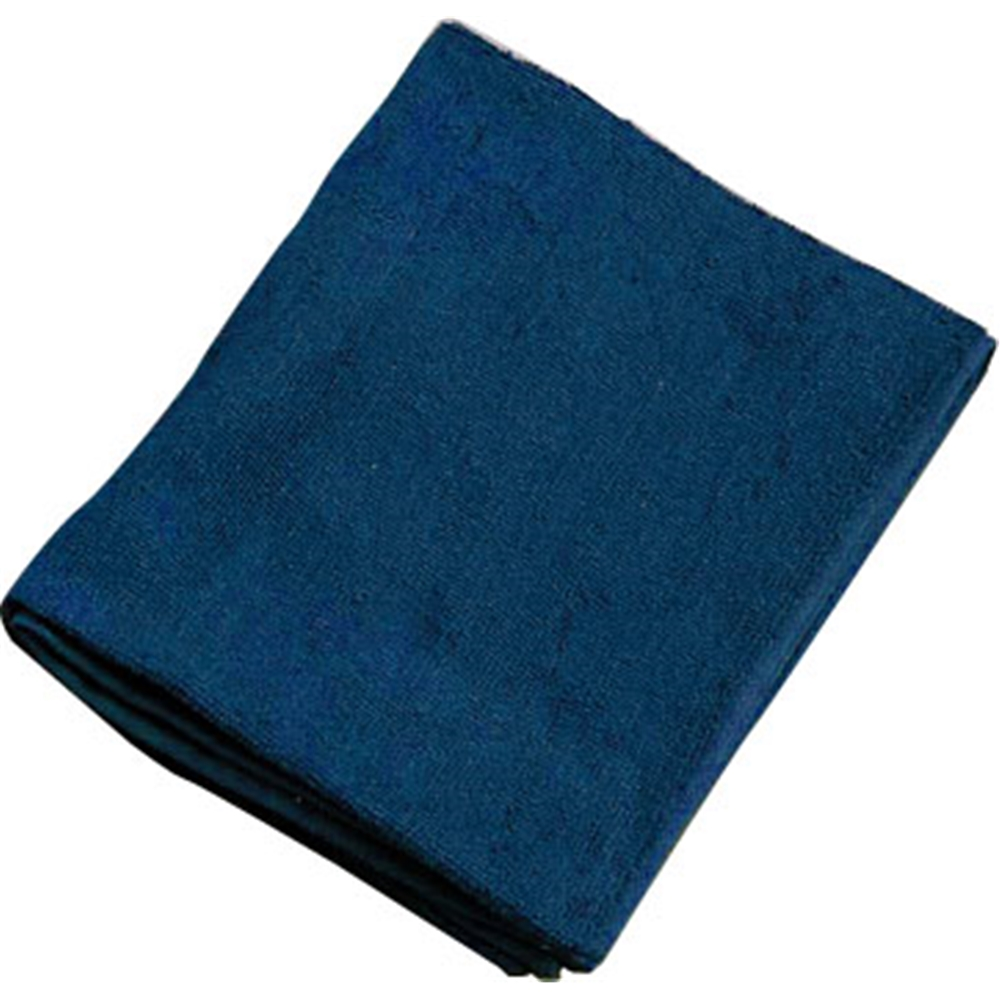 ミューファン 抗菌フェイスタオル (12枚入) 紺