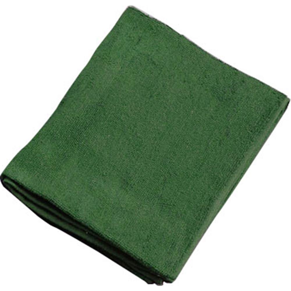 ミューファン 抗菌フェイスタオル (12枚入) 緑