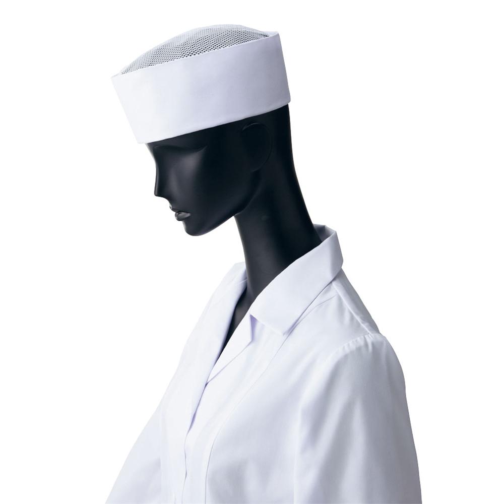 天メッシュ丸帽3(ホワイト) 3L