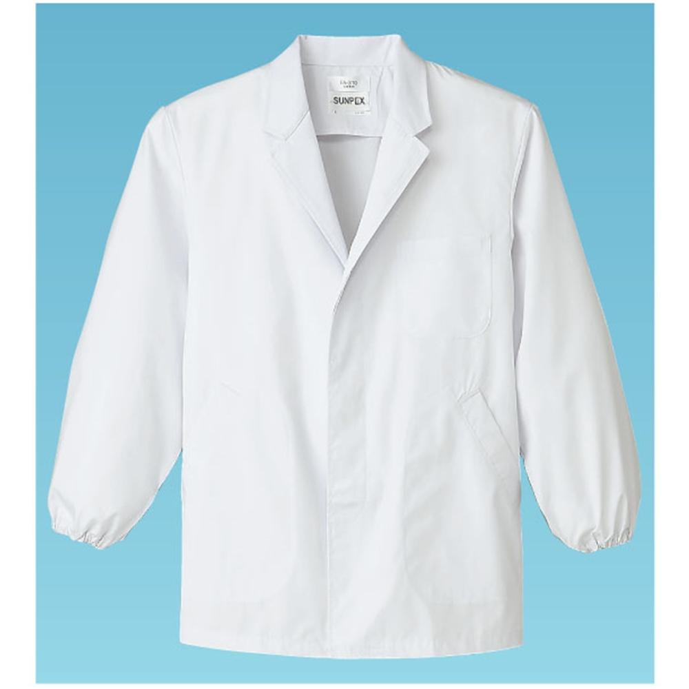 男性用調理衣 長袖 FA−310 S