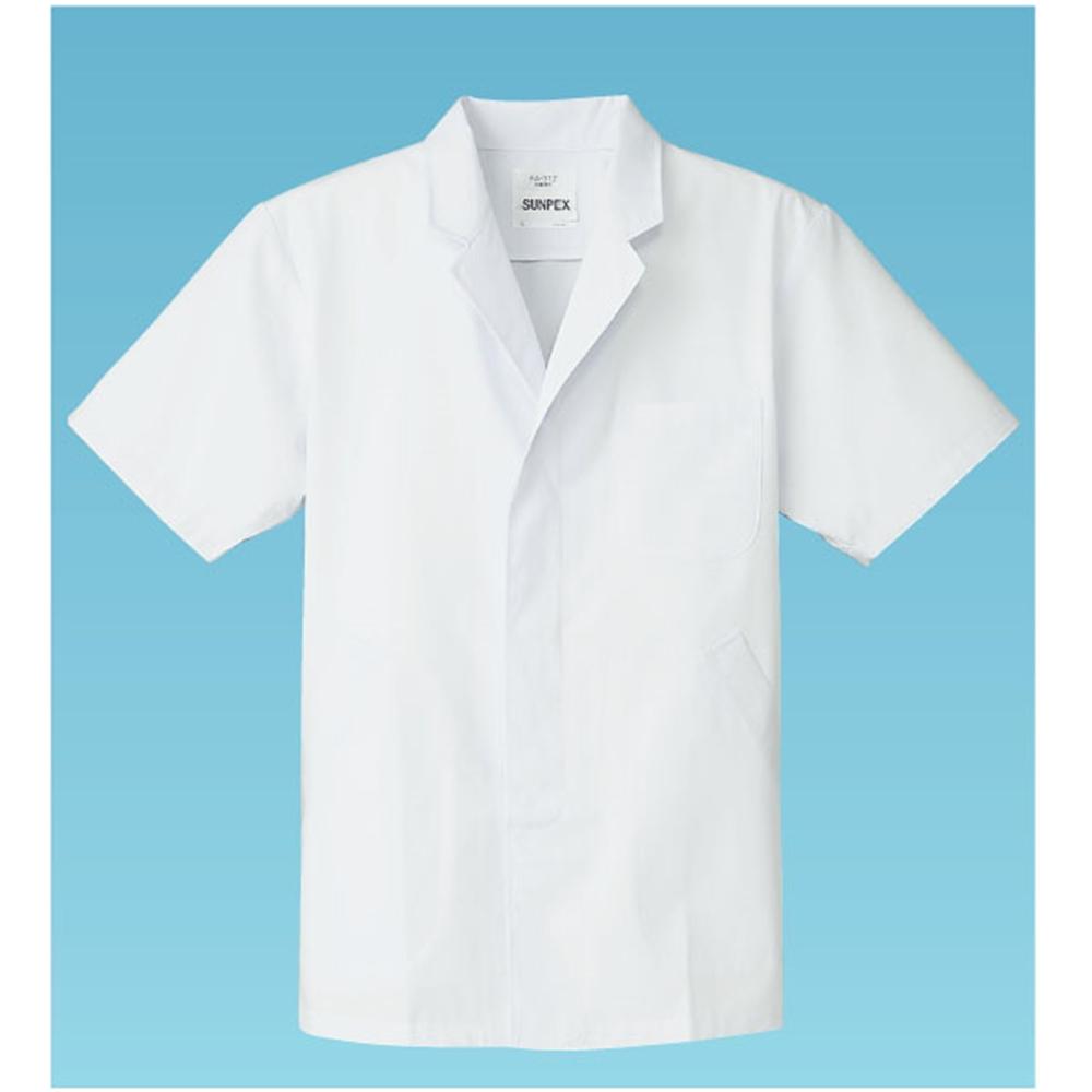 男性用調理衣 半袖 FA−312 M