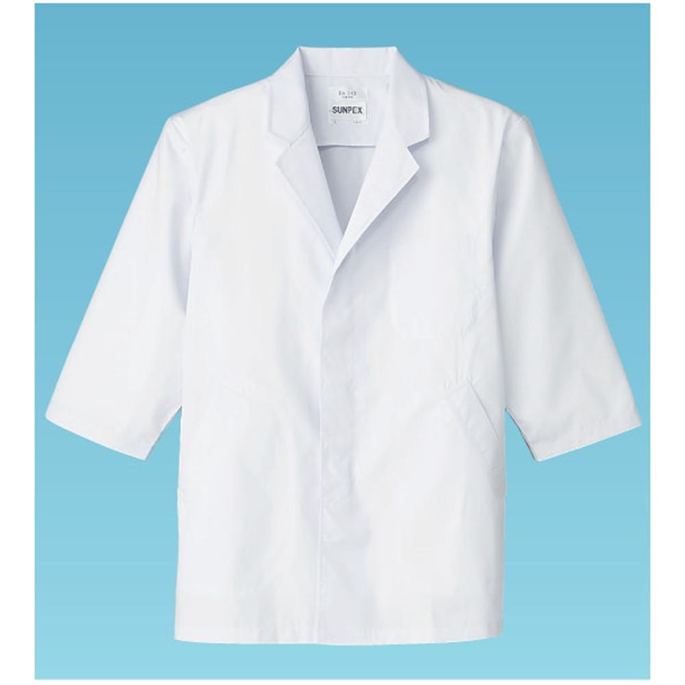 男性用調理衣 七分袖 FA−313 M
