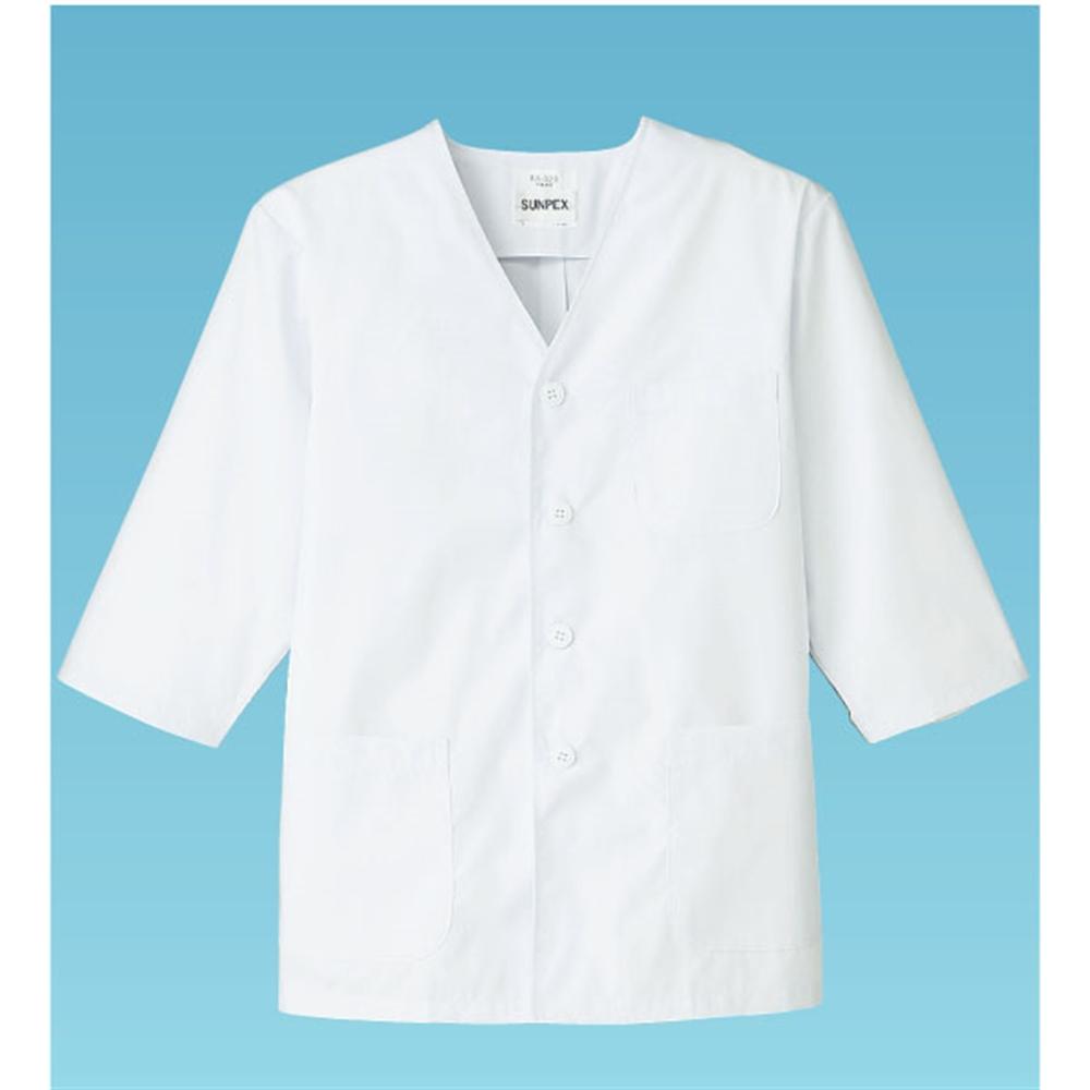 男性用調理衣 七分袖 FA−323 4L