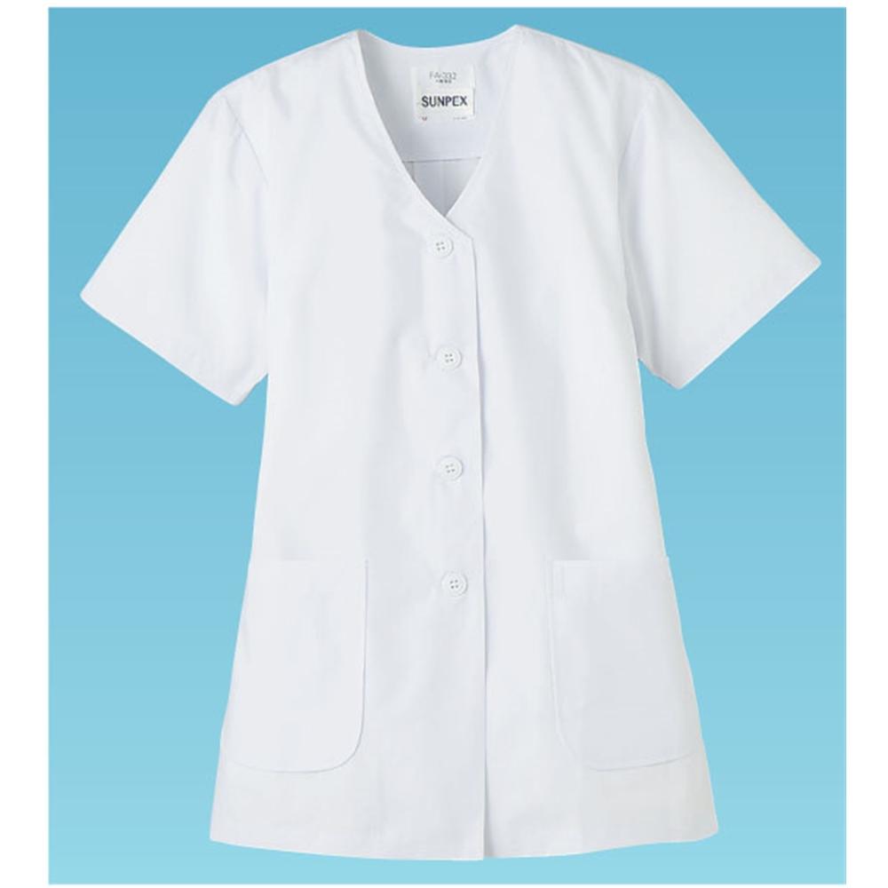女性用調理衣 半袖 FA−332 3L