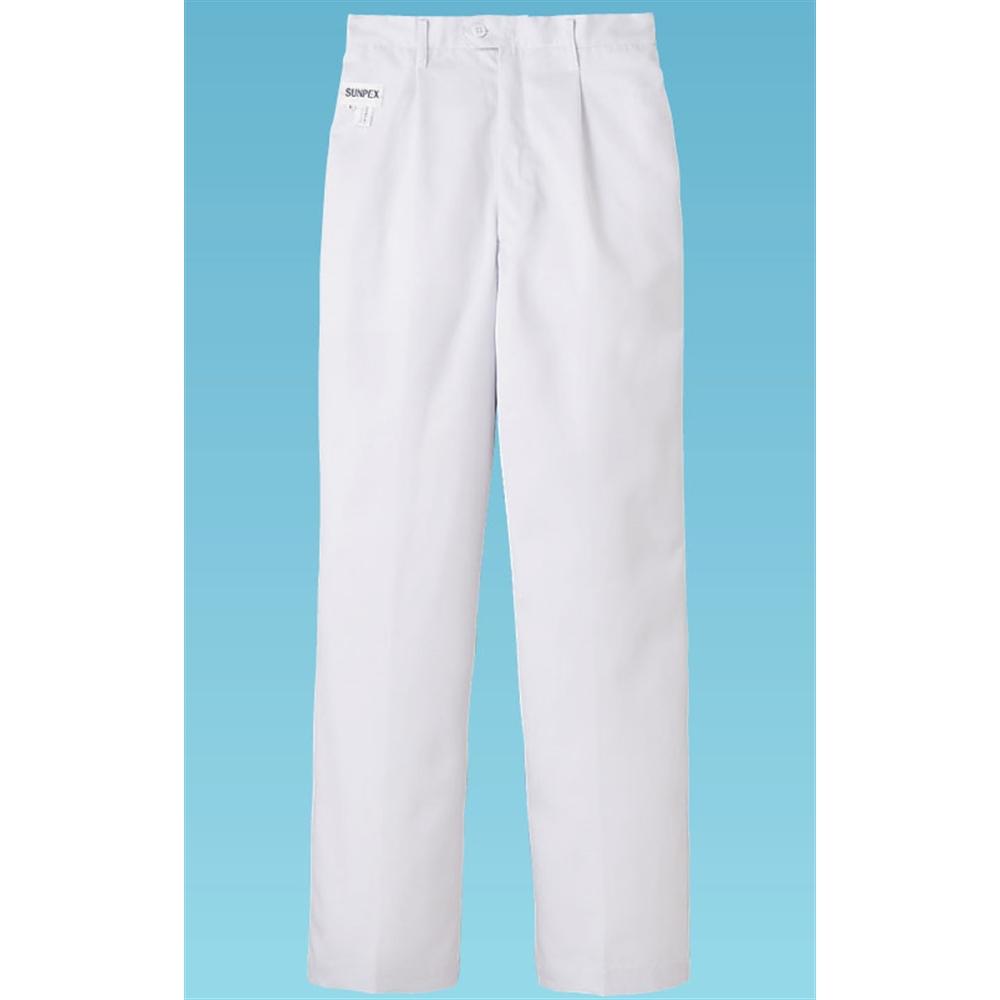 男性用パンツ FH−1110(ホワイト) L 後ゴム