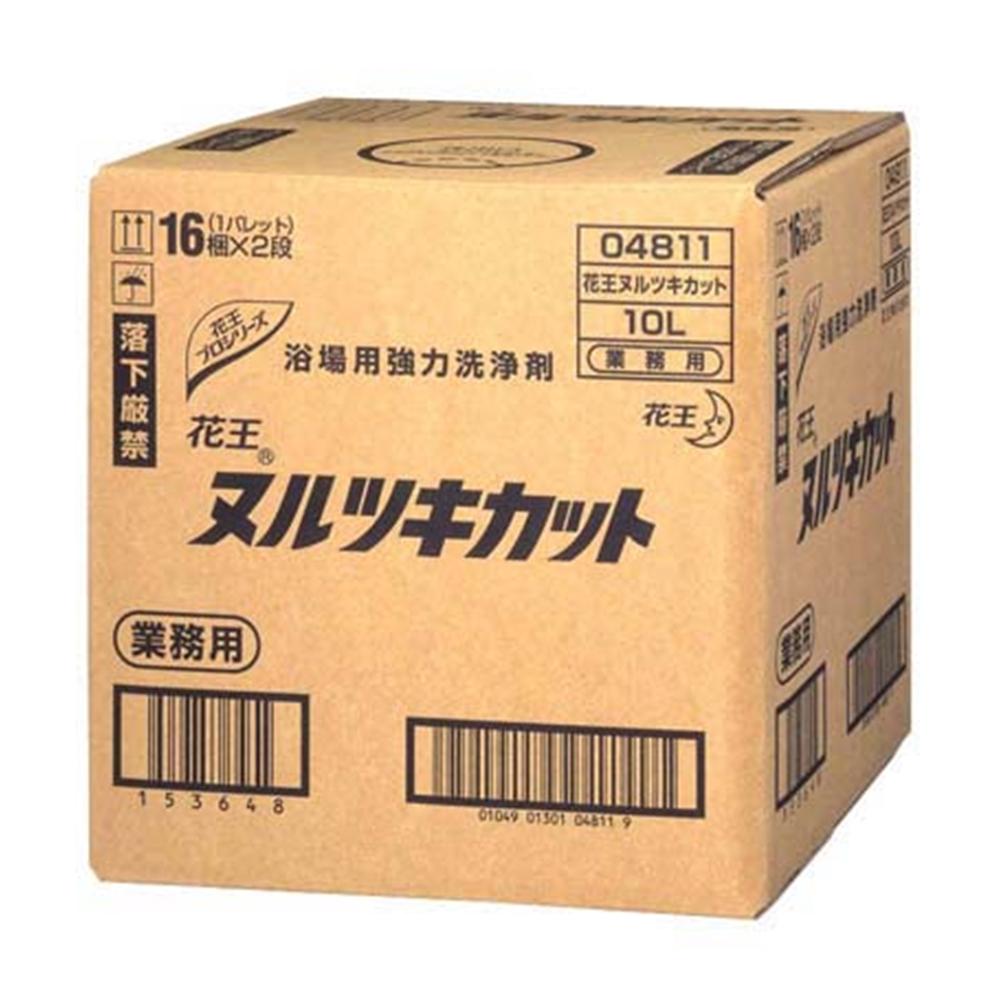 花王 ヌルツキカット 10L (浴場用強力洗剤)