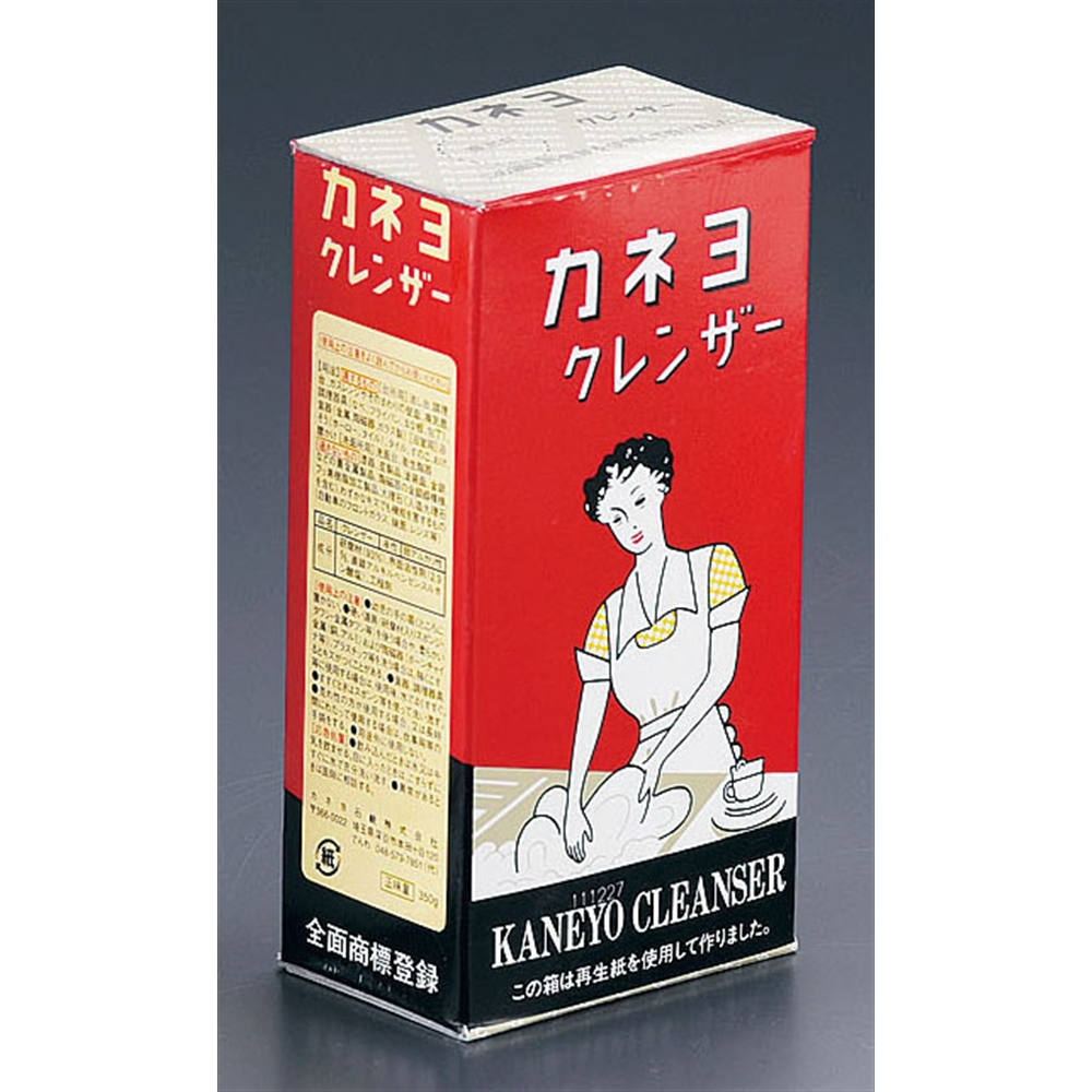 カネヨクレンザー (粉末クレンザー) 350g