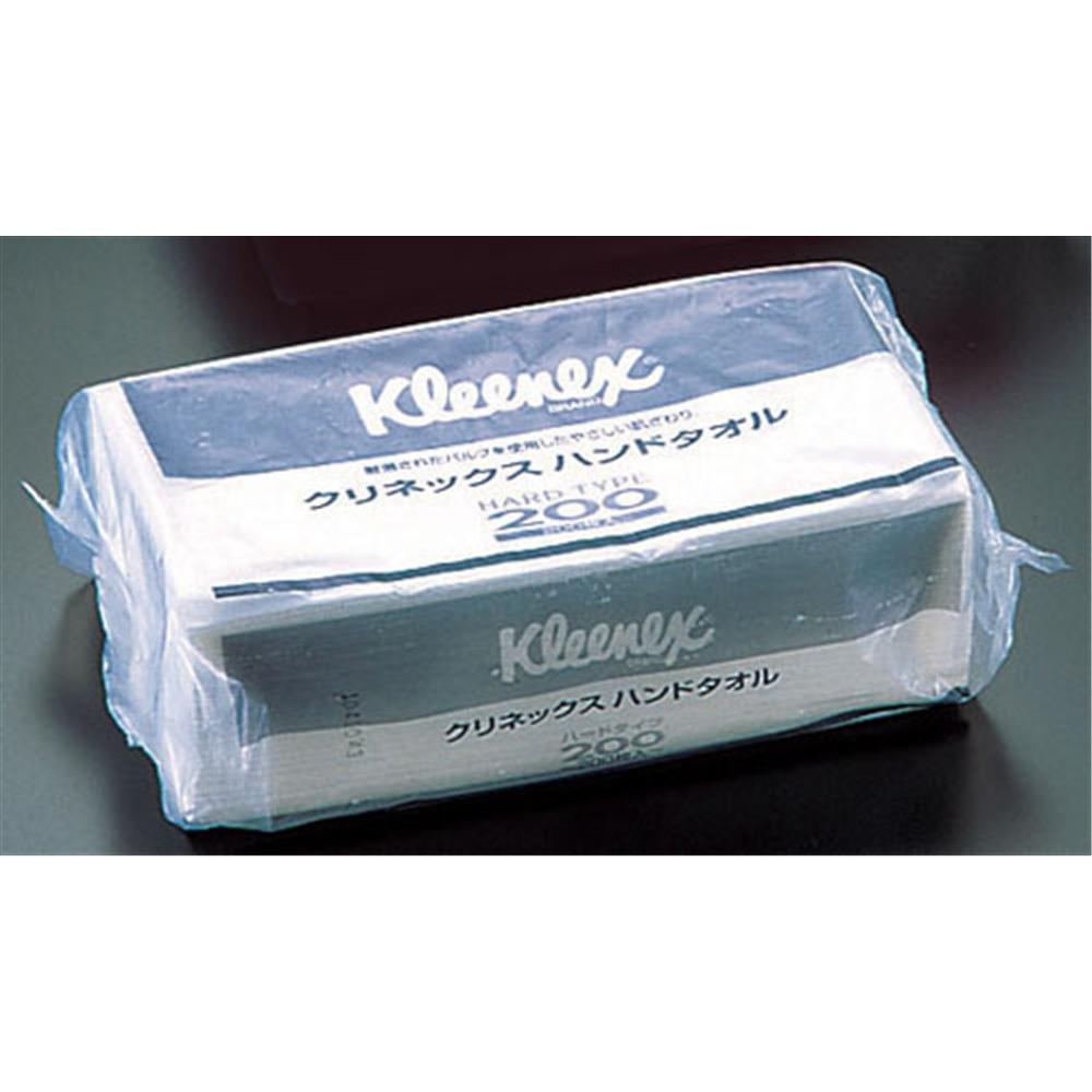 クリネックス ハンドタオル ハードタイプ 200 (1ケース30束入)