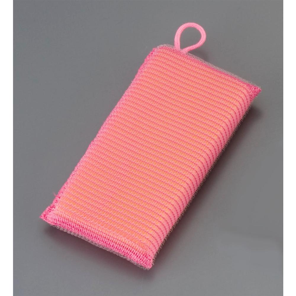 ワコーストロング タフネットスポンジ (5個入)ピンク