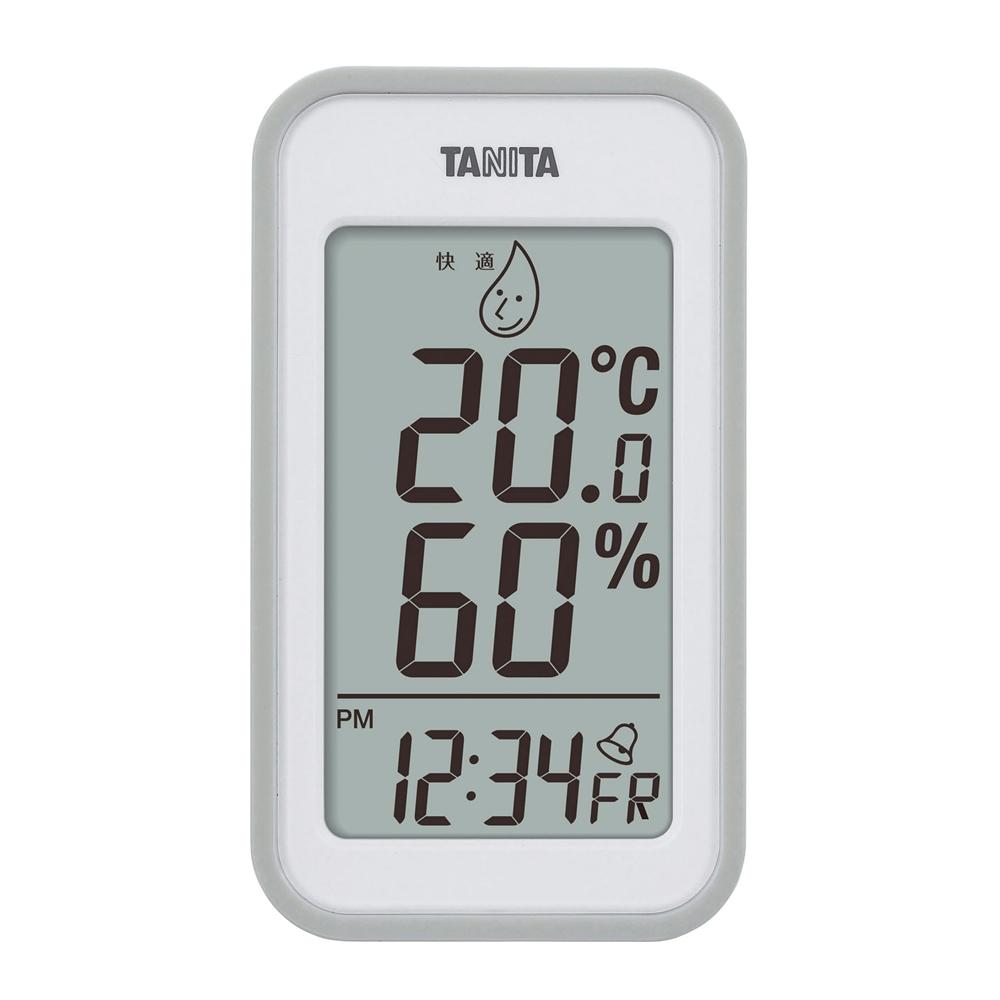 デジタル温湿度計 TT−559 グレー